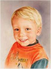 portrait of son