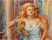 Fragment - Gorgon Medusa rand Poseidon