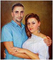 picturesque double portrait
