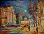 Evening on the street