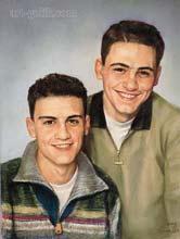 brothers couple portrait