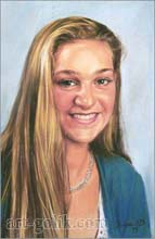girl with golden hair