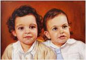 διπλό πορτραίτο από φωτογραφία